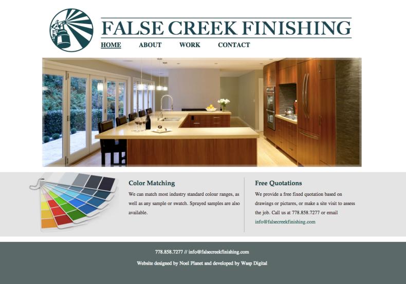 False Creek Finishing