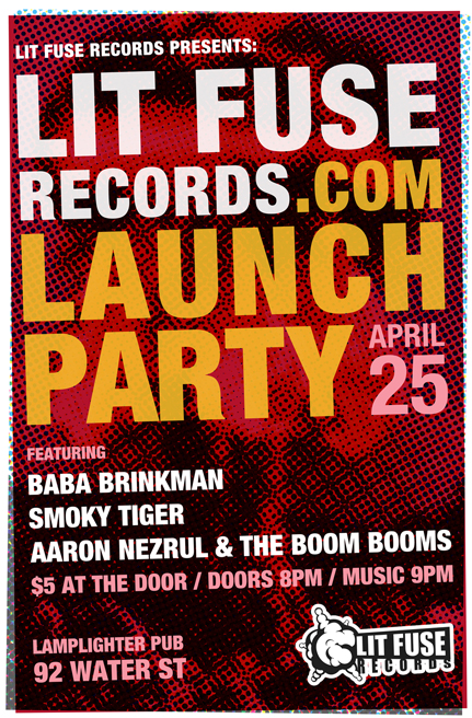 Lit Fuse Records Website Launch