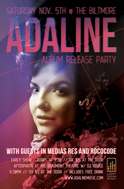 Adaline Album Release Party