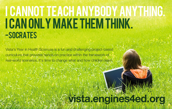 Advertisements for VISTA