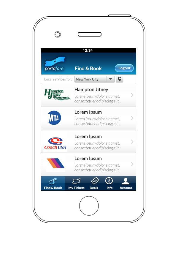 Portafare app