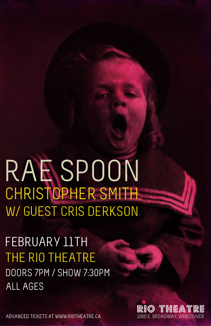Rae Spoon at the Rio Theatre