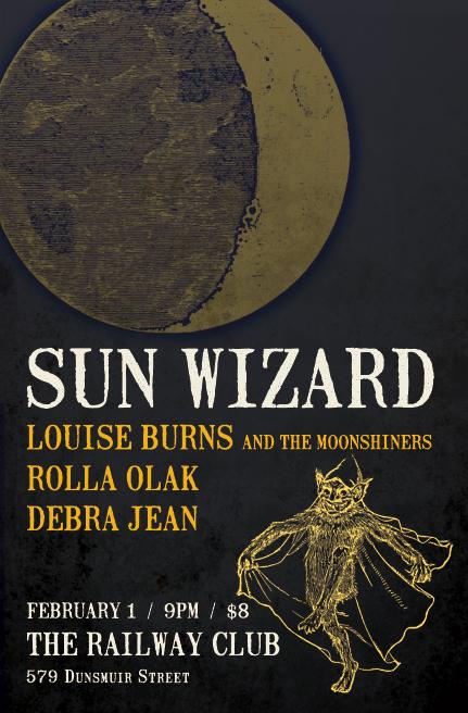 Sun Wizard at the Railway Club