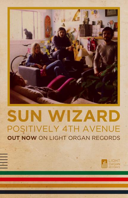 Sun Wizard Tour Poster