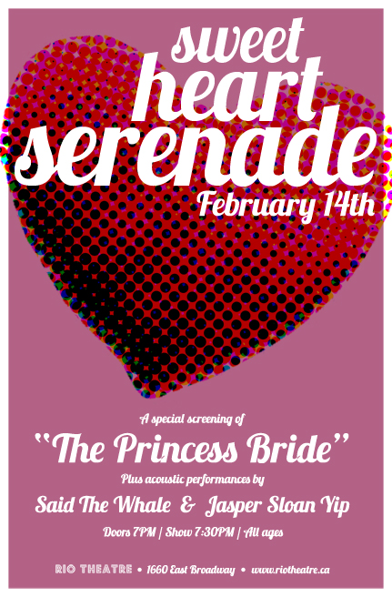 Sweet Heart Serenade at the Rio Theatre